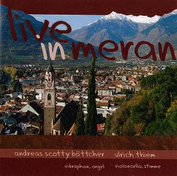 CD-Cover live in meran